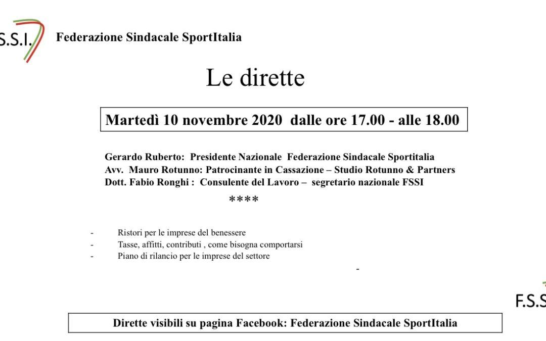 Decreto Ristori – estrapolato settore sportivo